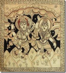 Shiva Durga Dancing