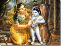 Krishna's Mischief
